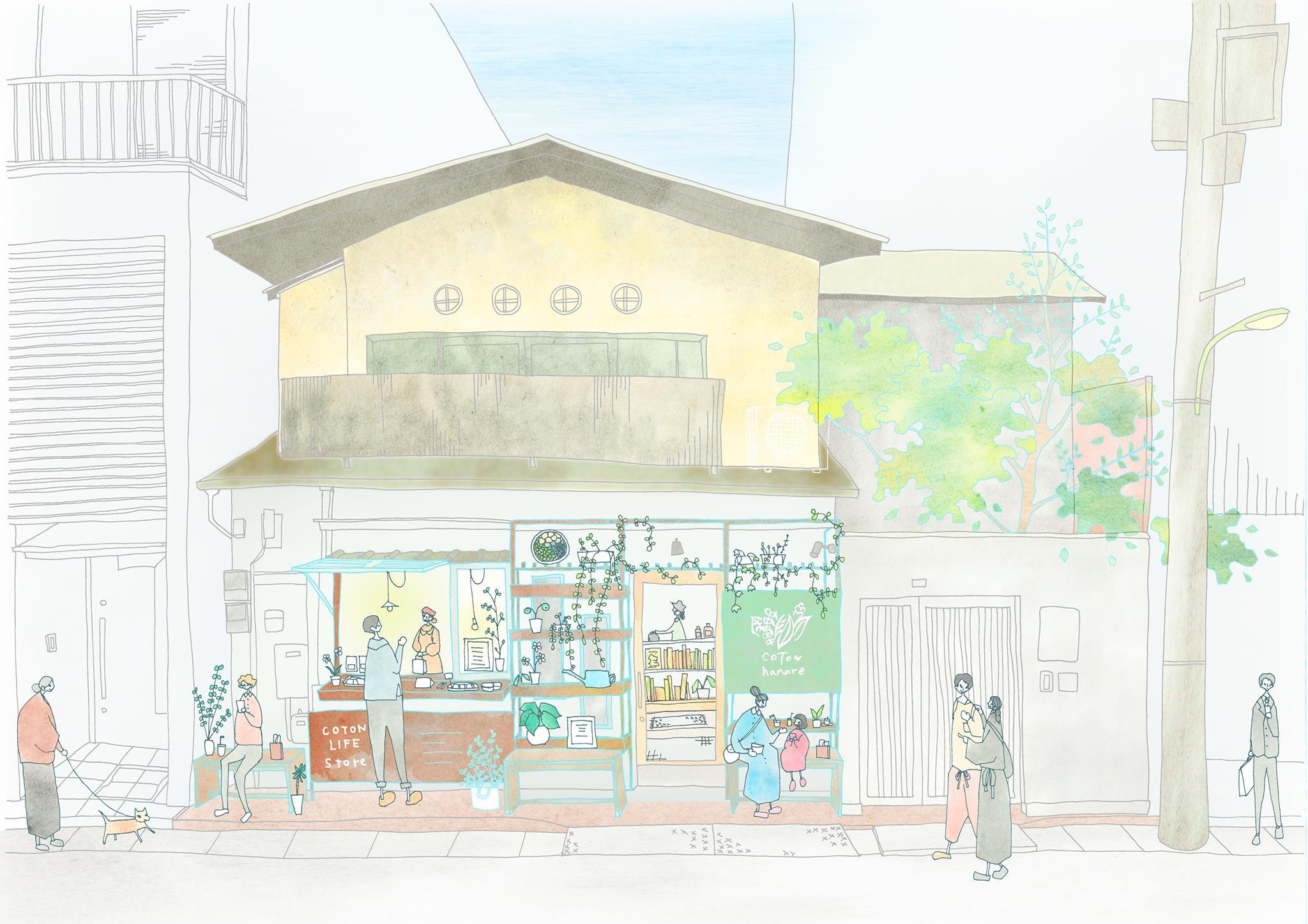COTON hanare/人形町、浜町、水天宮前の美容室、ヘアサロン